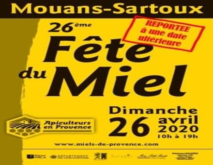 La fête du miel de Mouans-Sartoux reportée à une date ultérieure