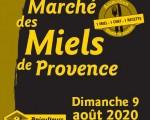 Le marché des miels de Provence